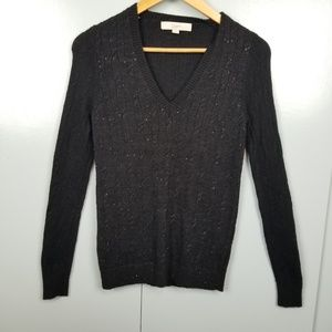 LOFT Pullover Black cardigan size XS